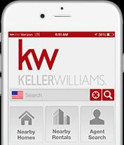 KW App on Smartphone